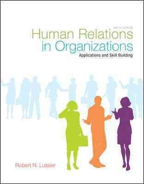 human relations in organizations 9th edition pdf