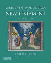 A Brief Introduction to the New Testament 3rd Edition 9780199862306 0199862303