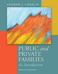 Public and Private Families 7th Edition 9780078026676 0078026679