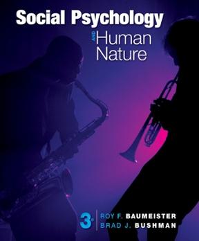 Social psychology and human nature comprehensive edition 3rd social psychology and human nature comprehensive edition 3rd edition 9781133957799 113395779x fandeluxe Choice Image