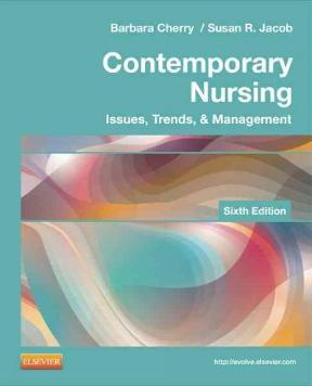 Contemporary nursing issues trends management 6th edition rent contemporary nursing 6th edition 9780323101097 0323101097 fandeluxe Images