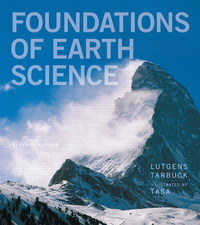 Foundations of Earth Science 7th Edition 9780321811790 0321811798