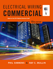 Electrical Wiring Commercial 15th edition 9781285186856 1285186850
