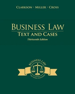 Business law text and cases 13th edition rent 9781285185248 business law 13th edition 9781285185248 1285185242 fandeluxe Choice Image