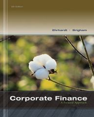 Corporate Finance 5th Edition 9781285663494 1285663497