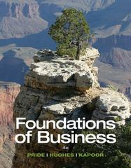 Foundations of Business 4th Edition 9781285193946 1285193946