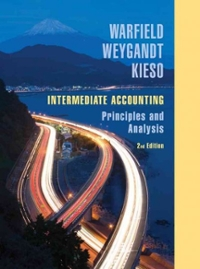 Intermediate Accounting (2nd) edition 9780471737933 0471737933