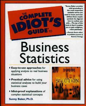 the complete idiot s guide to business statistics 1st edition rent rh chegg com the complete idiot's guide to statistics free pdf the complete idiot's guide to statistics pdf download