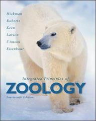 Integrated Principles of Zoology 14th edition 9780077221263 0077221265