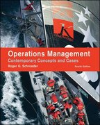 Operations Management: Contemporary Concepts and Cases 4th edition 9780073377865 0073377864