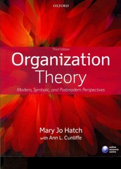 Textbook rental rent organizational behavior textbooks from chegg organization theory 3rd edition 9780199640379 0199640378 fandeluxe Gallery