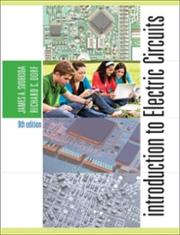 Introduction to electric circuits 9th edition rent 9781118560600 introduction to electric circuits9th fandeluxe Choice Image