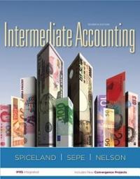 Intermediate accounting homework help