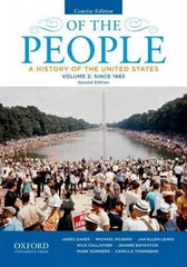 Of the People 2nd Edition 9780199924752 0199924759