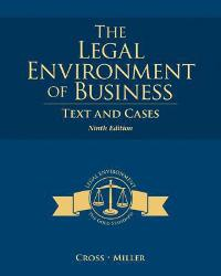 The Legal Environment of Business (9th) edition 1285428943 9781285428949