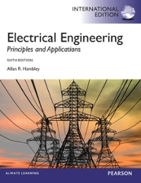 Electrical Engineering 6th edition 9780273793250 027379325X