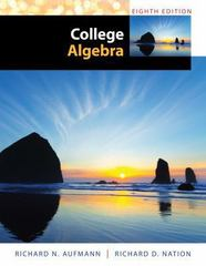 College Algebra 8th edition 9781285434773 1285434773