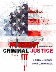 Essentials of Criminal Justice 9th Edition 9781285441528 1285441524