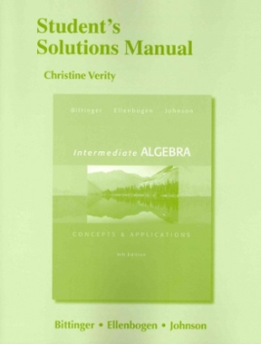 student s solutions manual for intermediate algebra concepts rh chegg com Intermediate Algebra 10th Intermediate Algebra Textbook
