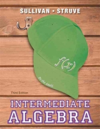 Intermediate algebra 3rd edition textbook solutions chegg intermediate algebra 3rd edition view more editions fandeluxe Images