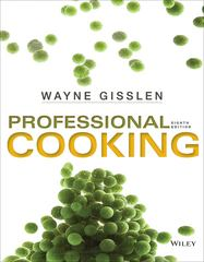 Professional Cooking 8th Edition 9781118636725 1118636724