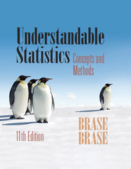 Understandable Statistics 11th Edition 9781285460918 128546091X