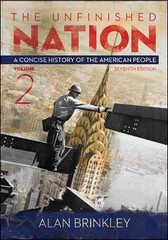 The Unfinished Nation 7th Edition 9780077412302 0077412303