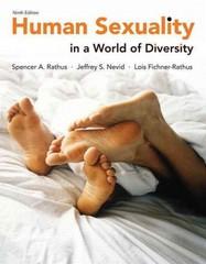 Human sexuality carroll 4th edition