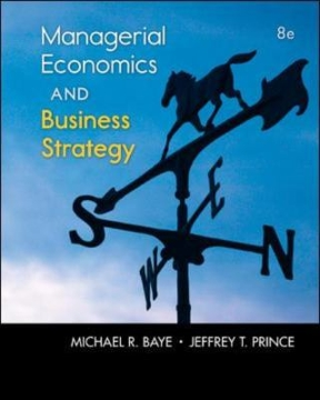 Managerial economics business strategy 8th edition rent managerial economics business strategy 8th edition 9780073523224 0073523224 fandeluxe Image collections