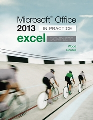 Microsoft Office Excel 2013 Complete 1st Edition 9780077486914 0077486919