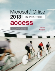 Microsoft Office Access 2013 Complete 1st Edition 9780077486921 0077486927