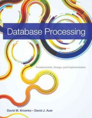 Database Processing 13th Edition 9780133401875 0133401871