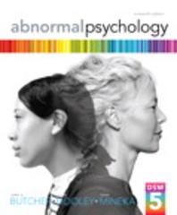 Abnormal Psychology 16th Edition 9780205944286 0205944280