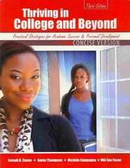 Thriving in College and Beyond 3rd Edition 9781465213754 1465213759