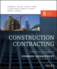 Construction Contracting (8th) edition 1119019974 9781119019978