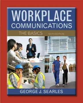 workplace communications the basics 6th edition pdf