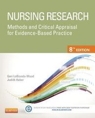 Nursing Research 8th Edition 9780323100861 0323100864