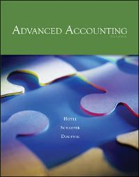 Advanced Accounting (9th) edition 007337945X 9780073379456