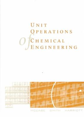 unit operations  chemical engineering  edition rent  cheggcom