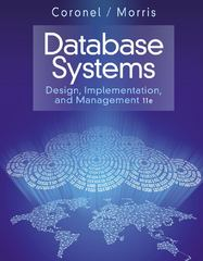Database Systems 11th Edition 9781285196145 1285196147