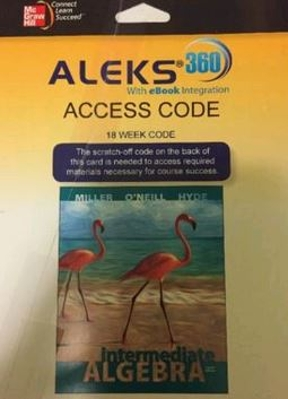 Aleks 360 access card 18 weeks for intermediate algebra 4th aleks 360 access card 18 weeks for intermediate algebra 4th edition fandeluxe Gallery