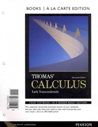 Thomas' Calculus (13th) edition 0321878755 9780321878755