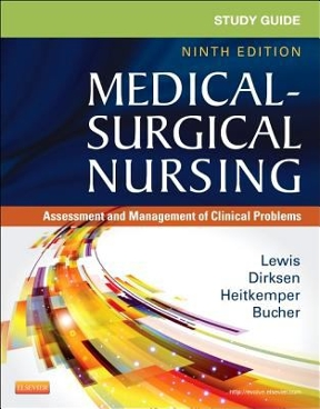study guide for medical surgical nursing assessment and management rh chegg com study guide for medical-surgical nursing - ebook assessment and management study guide for medical-surgical nursing 8th edition