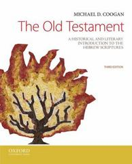 The Old Testament 3rd Edition 9780199946617 0199946612