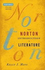 The Norton Introduction to Literature, Portable Edition 11th Edition 9780393923391 0393923398