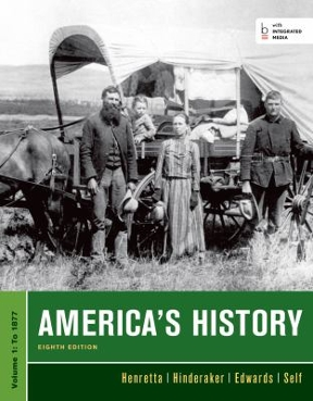 Americas history volume 1 to 1877 8th edition rent 9781457628160 americas history 8th edition 9781457628160 1457628163 fandeluxe Gallery