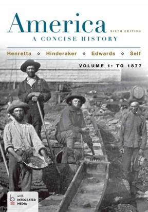 America a concise history volume 1 to 1877 6th edition rent a concise history volume 1 to 1877 fandeluxe Gallery