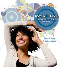 Psychology in Everyday Life 3rd Edition 9781464109362 1464109362