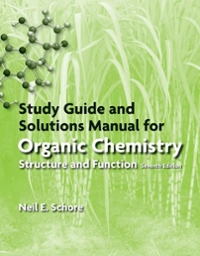 Study Guide/Solutions Manual for Organic Chemistry (7th) edition 9781464162251 1464162255