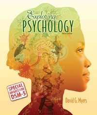 Exploring Psychology with Updates on DSM-5 9th Edition 9781464163364 1464163367
